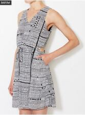 NWT Greylin Gregory Dress (S) Side Cutouts - Tie Waist - Pockets - Anthropologie