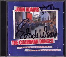 John ADAMS, Edo de WAART Signed The Chairman Dances Short Ride in a Fast Machine