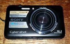 Sony Cybershot DSC-WX9 16.2MP Black Digital Camera