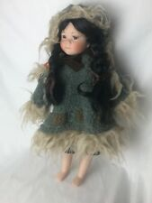 Vintage 1991 Limited Edition Brinns Collection 18 Porcelain Inuit Doll