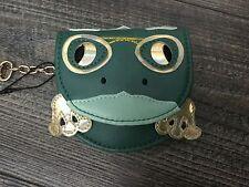 NUOVI BELLISSIMI Green & GOLD Frog borsa con catena portachiavi – Borsa Fascino/portamonete