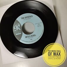 The Crystals - He's A Rebel / I Love You Eddie 45 NEAR MINT