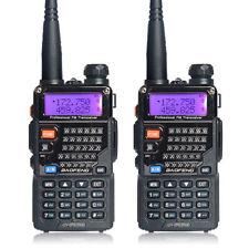 2pc BAOFENG UV-5RE PLUS(UV-5R+) Dual-Band Walkie Talkie VHF/UHF 2 Way Ham Radio