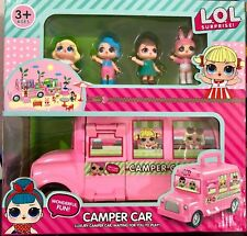 2018 LOL Surprise Camper Car Doll Mädchen Park Haus Spiel  Baby Kid Spielzeug