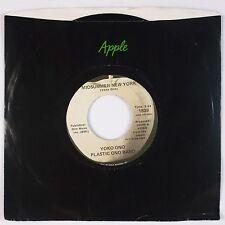 YOKO ONO: Mrs. Lennon / Midsummer New York USA APPLE 1839 Beatles NM-