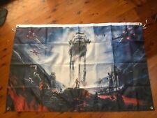 Luke sky walker man cave bar flag poster banner darth Vader Star Wars garagesign
