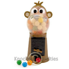Monkey Gumball Machine Bank Cany Gum Ball Chewing Save Money Saving Kids Toy