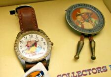 Roy Rogers Watch & Dale Evans with Bolo & Fossil LE Watch Mini Lunch Box