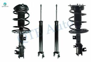 Front-Rear Set of 4 Quick Complete Strut - Shock For 2009-2014 Nissan Maxima FWD