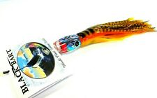 Black Bart Pelagic Breakfast Big Game Trolling Lure Light Paua Yellow Blck Tiger