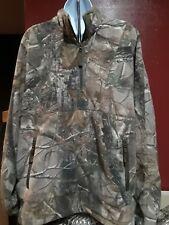 a444d1d6ab CABELAS OUTDOOR GEAR Size Large Reg Mens Camo 1 4 Zip Jacket Heavy fleece