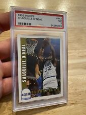 Shaquille O'neal ROOKIE PSA 7 SHAQ Card NBA Hoops #442 INVEST AGAINST INFLATION!