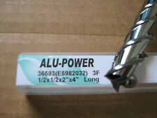 """1/2""""x2"""" LOCx 4"""" OAL,ALU-POWER 3 Flute Carbide End Mill, YG-1 brand """"NEW"""""""
