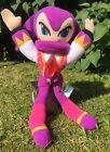 SEGA NiGHTS Into Dreams Soft Plush Toy Doll Figure Sonic The Hedgehog Game