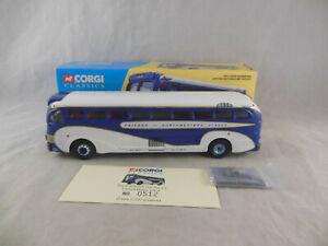 Corgi Classics 53901 Yellow Coach 743 Union Pacific 1:50 Scale