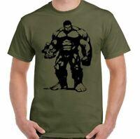 Hulk Camiseta Hombre Gimnasio Entrenamiento Top Culturismo Mma Halterofilia