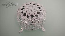 Plastic Mini Gift Box Round Party Favor Decoration Wedding Bridal Shower Elegant