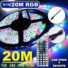 bande 10M LED allume bande changeante couleur RVB sous l'éclairage TV cuisine LB