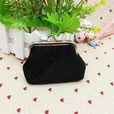 Womens Corduroy Small Wallet Holder Coin Purse Clutch Handbag Bag Z1V4
