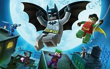 LEGO BATMAN VINYL WALL STICKER WALL DECALS SIZE XL