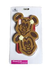 New Disney Parks D-Tech Mickey Waffles iPhone X/Xs Case Waffle Phone Case