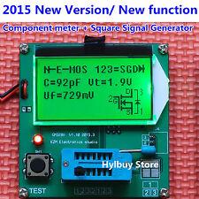 New All-in-1 Component Tester Transistor Diode Capacitance ESR Meter Inductance