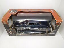Highway 61 1:18 Diecast 1963 Pontiac Lemans Coupe Dark Blue ERTL