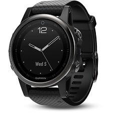 Garmin Fenix 5S Sapphire Multisport 42mm GPS Watch - Black with Black Band