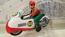 T.N Nomura Tin Friction Race Motorcycle Moving Driver #60