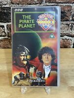 Doctor Who: The Pirate Planet -Vhs- Tom Baker