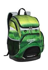 Speedo Large Teamster Backpack Swim Bag 35 L Liter Tie Dye Green New with Tags