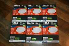 6X Halo HLB 4 in. Round Recessed Integrated LED Direct Mount Kit Canless 3000K