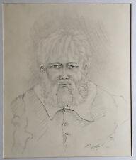 Rudolf Voigt (1925-2007)| Alter Mann, Arbeit aus Nachlass |DDR |Leipzig