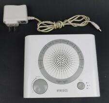 Homedics Model SS-1500-2 Sound Therapy Machince