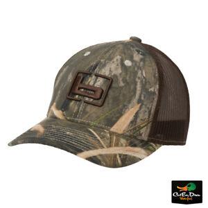 "NEW BANDED GEAR TRUCKER CAP HAT SHADOW GRASS HABITAT W/ ""b"" LOGO - MESH BACK"