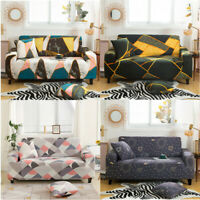 1/2/3/4 Sofa Covers Slipcover Elastic Stretch Settee  Chair Protector Couch Mat