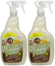 Earth Friendly Products Furniture Polish with Olive Oil 22-Ounce (Pack of 2)