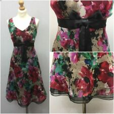 Party Floral Dresses for Women's Tea