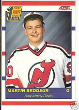 Martin Brodeur  90/91 Score #439  Canadian Red  RC