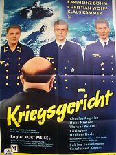 WW II + KRIEGSGERICHT + KARLHEINZ BÖHM + KREUZER POMMERN +