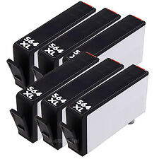 6pk 564XL Black Ink for HP 564 XL Photosmart B209a B210a B8500 B8550 B8553 B8558