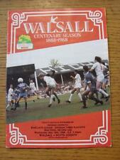 18/05/1988 Play-Off Semi-Final Division 3: Walsall v Notts County  (Creased).  A