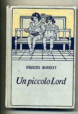 Burnett # UN PICCOLO LORD # Salani 1989 1A ED.