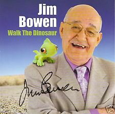 BULLSEYE legend JIM BOWEN - in person signed Walk the Dinosaur CD