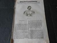 1843 BATTISTINA CHIESA D'ESNANDES KLEBER COSTUMI REGNO DI NAPOLI CALABRIA