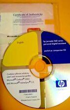 Hp iPaq Jornada Pocket Pc Active Sync 3.5 & Outlook 2002 Cd Software Disc Instal