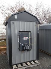 NON-RES CENTRAL BOILER CLASSIC 6048 OUTDOOR WOOD FURNACE- NEW - STAINLESS STEEL