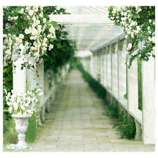 Photography Backdrop Wedding Bridal Photo Studio Background Vinyl 10x10FT ED