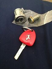 Ferrari 458 Key Fob W/ Ignition Cylinder And Door Lock Original Ferrari Part