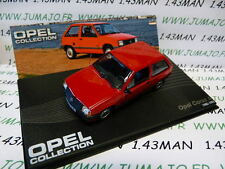voiture 1/43 IXO eagle moss OPEL collection n°68 : CORSA A 1982/1993